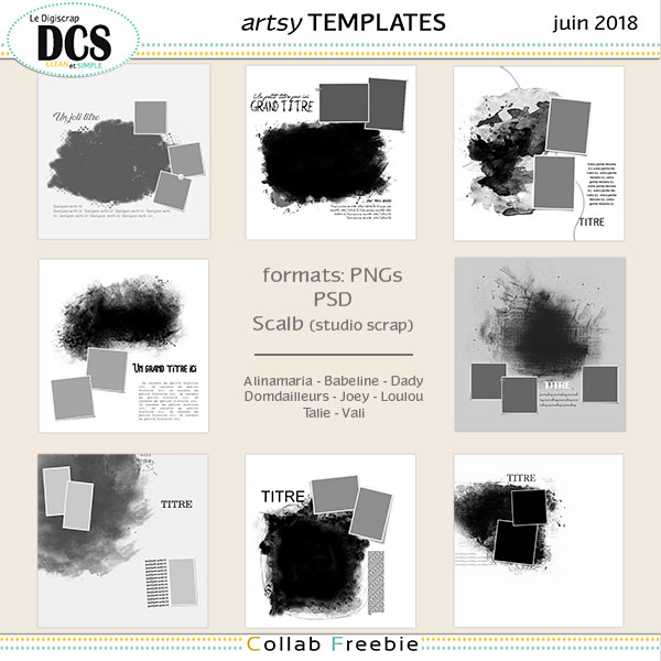Template Collab DCS de Juin 2018