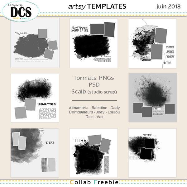 Template Collab DCS de Juin 2018