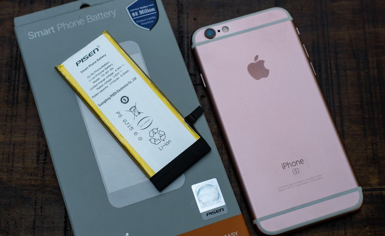 Trải nghiệm và đánh giá chất lượng thay pin Pisen cho iphone