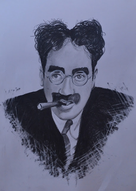 Groucho Marx - Claudio Tomassini Retratos