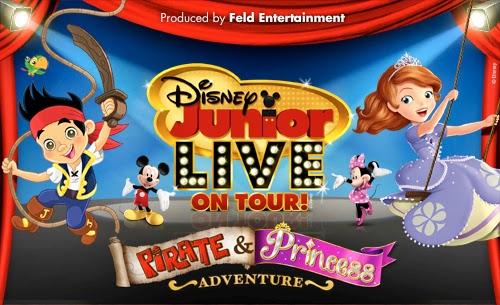 Disney Junior Live on Tour Pirate & Princess Adventure