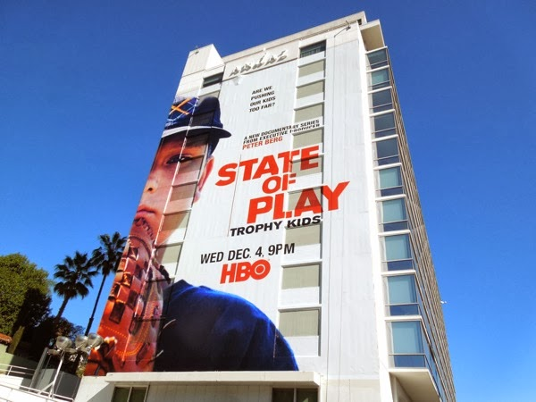 Giant State of Play series premiere billboard