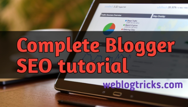 Complete-Blogger-SEO-Tutorials
