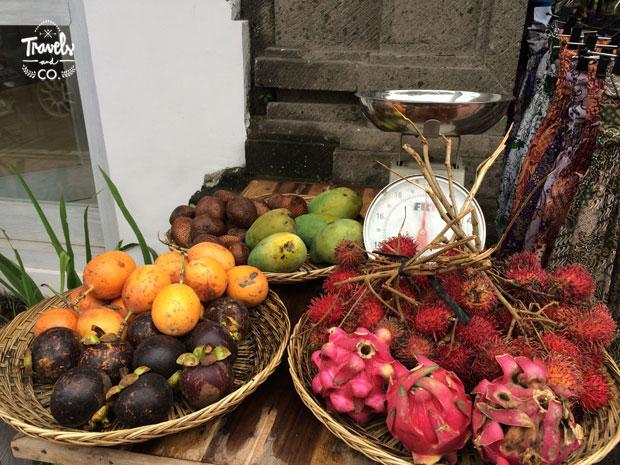 Viajar a Bali guía de viaje - fruta