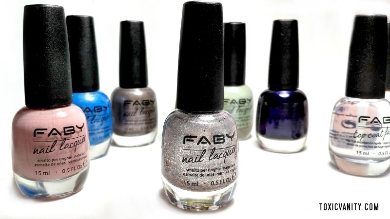 Faby Nails | Esmaltes 10-free, veganos y llenos de color - Toxic Vanity