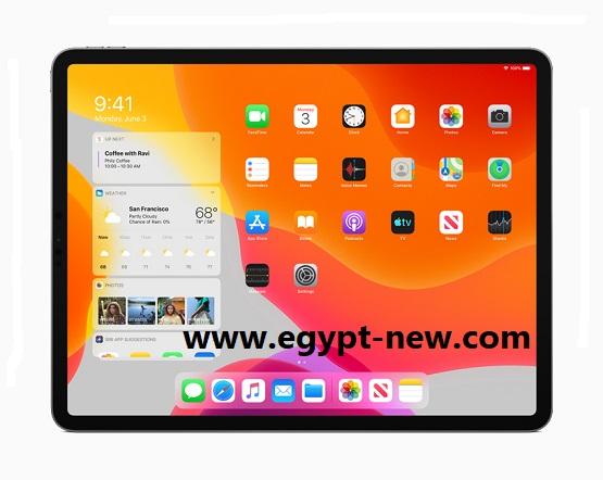 موقع إطار عمل iPadOS 14