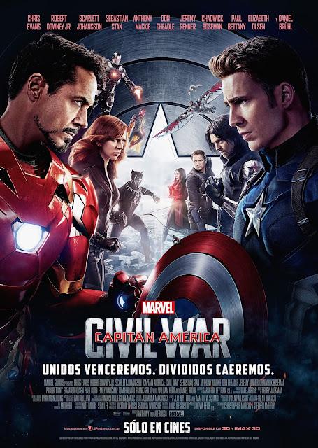 Resultado de imagen para Capitán América: Civil War poster