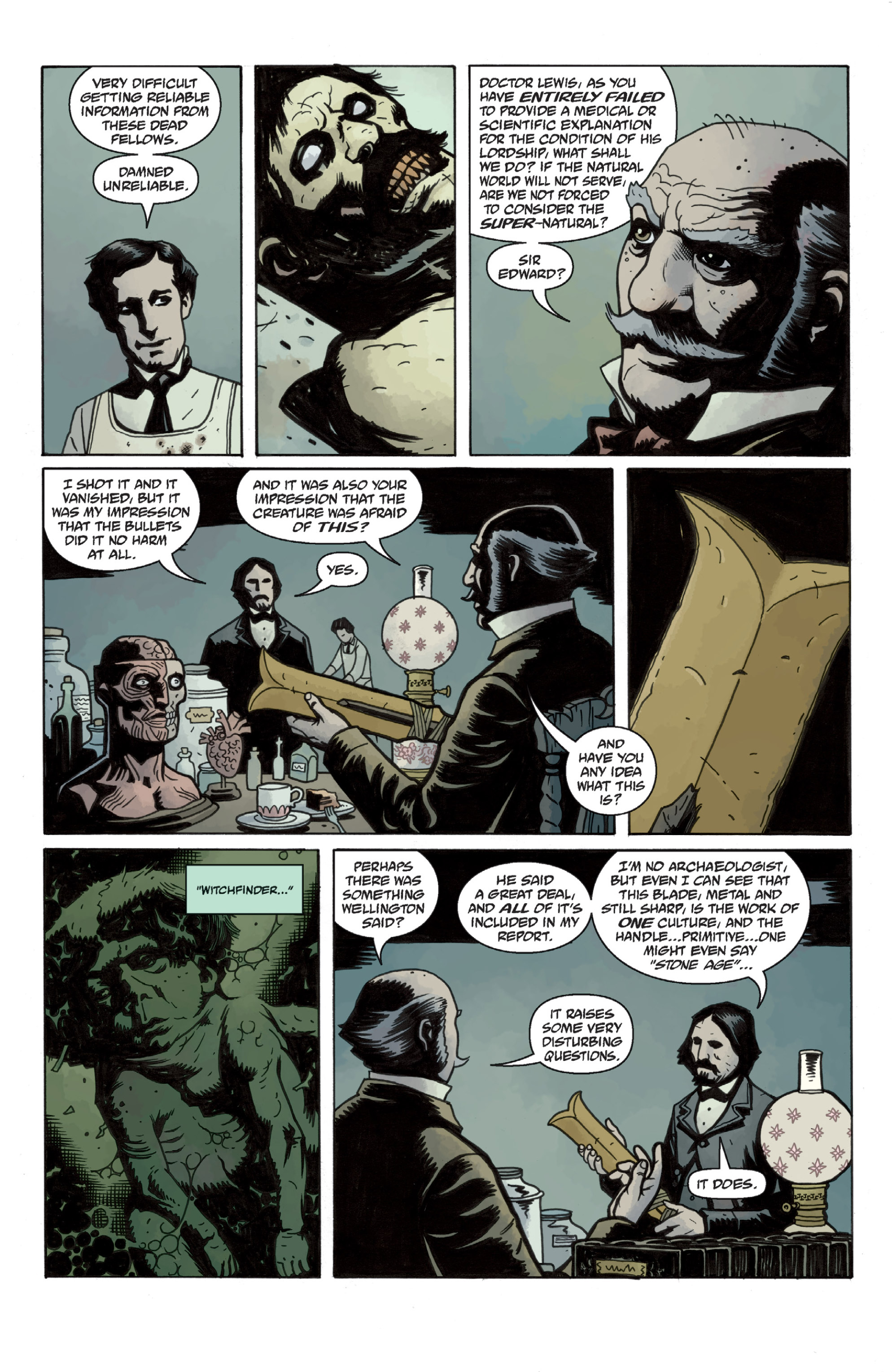 Read online Sir Edward Grey, Witchfinder: In the Service of Angels comic -  Issue # TPB - 25