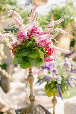 centro floral rosas