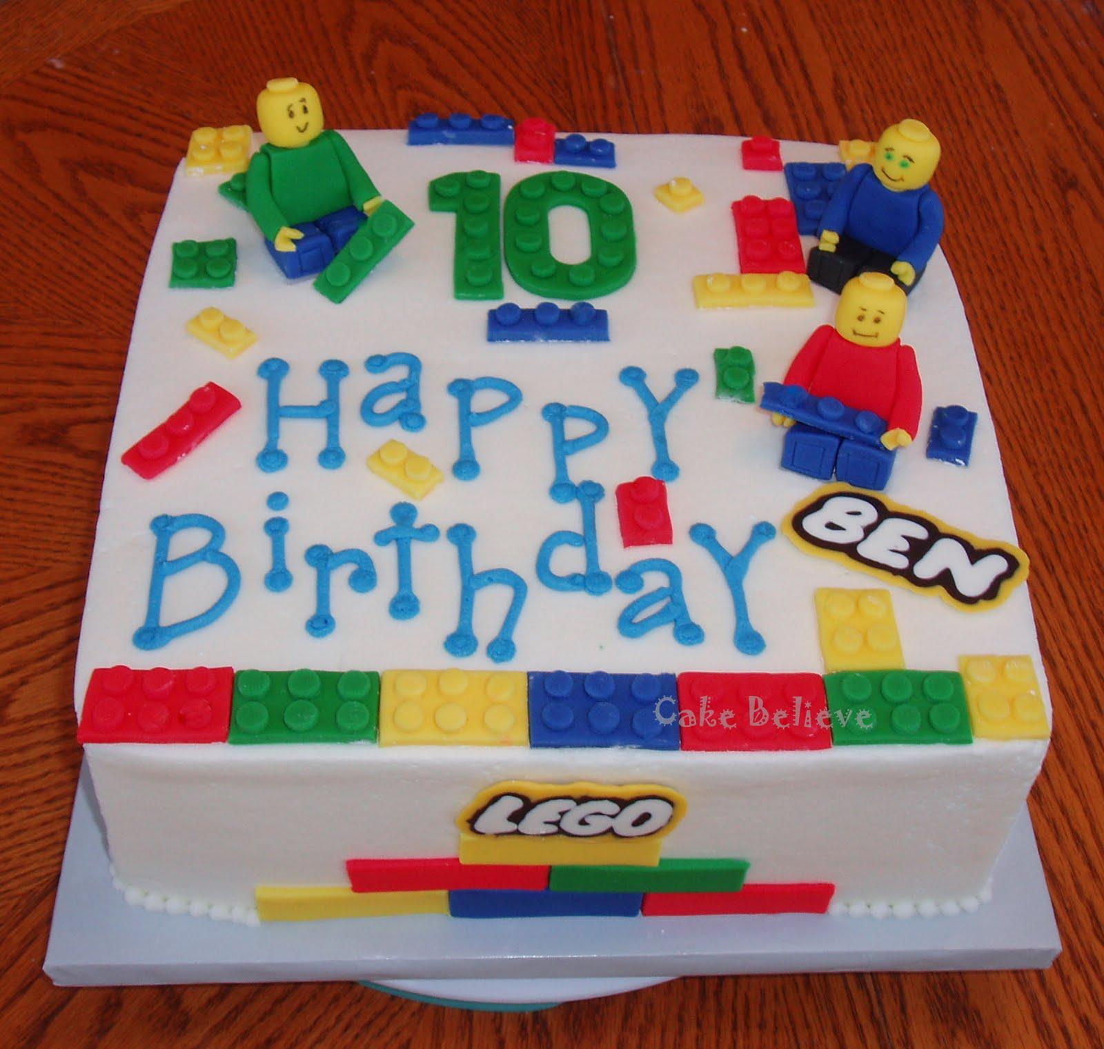 Cake Believe Lego