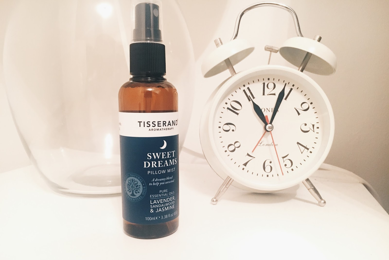 tisserand pillow spray lavender jasmine sandalwood sweet dreams get more sleep