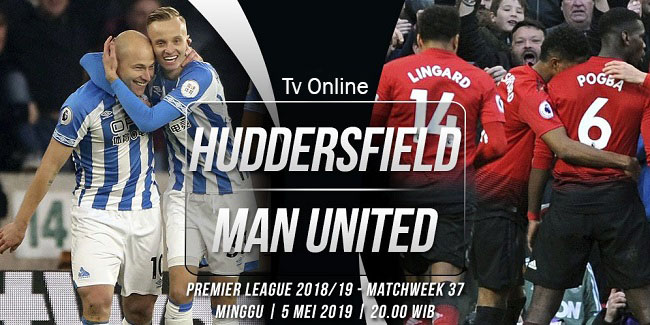 live streaming liga inggris huddersfield vs manchester united 5 mei 2019