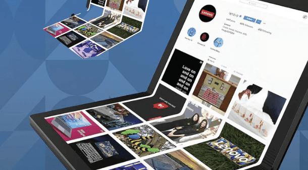 दुनिया के पहले फोल्डेबल पीसी का डेमो लेनोवो द्वारा जारी, कहा इसे 2020 में लॉन्च किया जाएगा