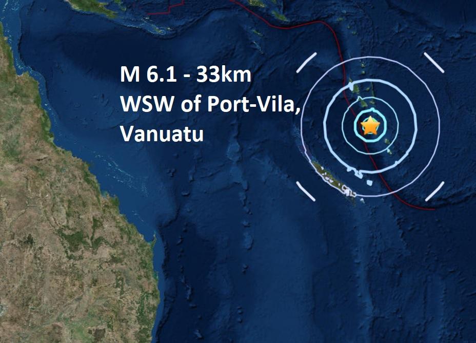 A mag M 6.1 rocks Port-Vila, Vanuatu  Naamloos
