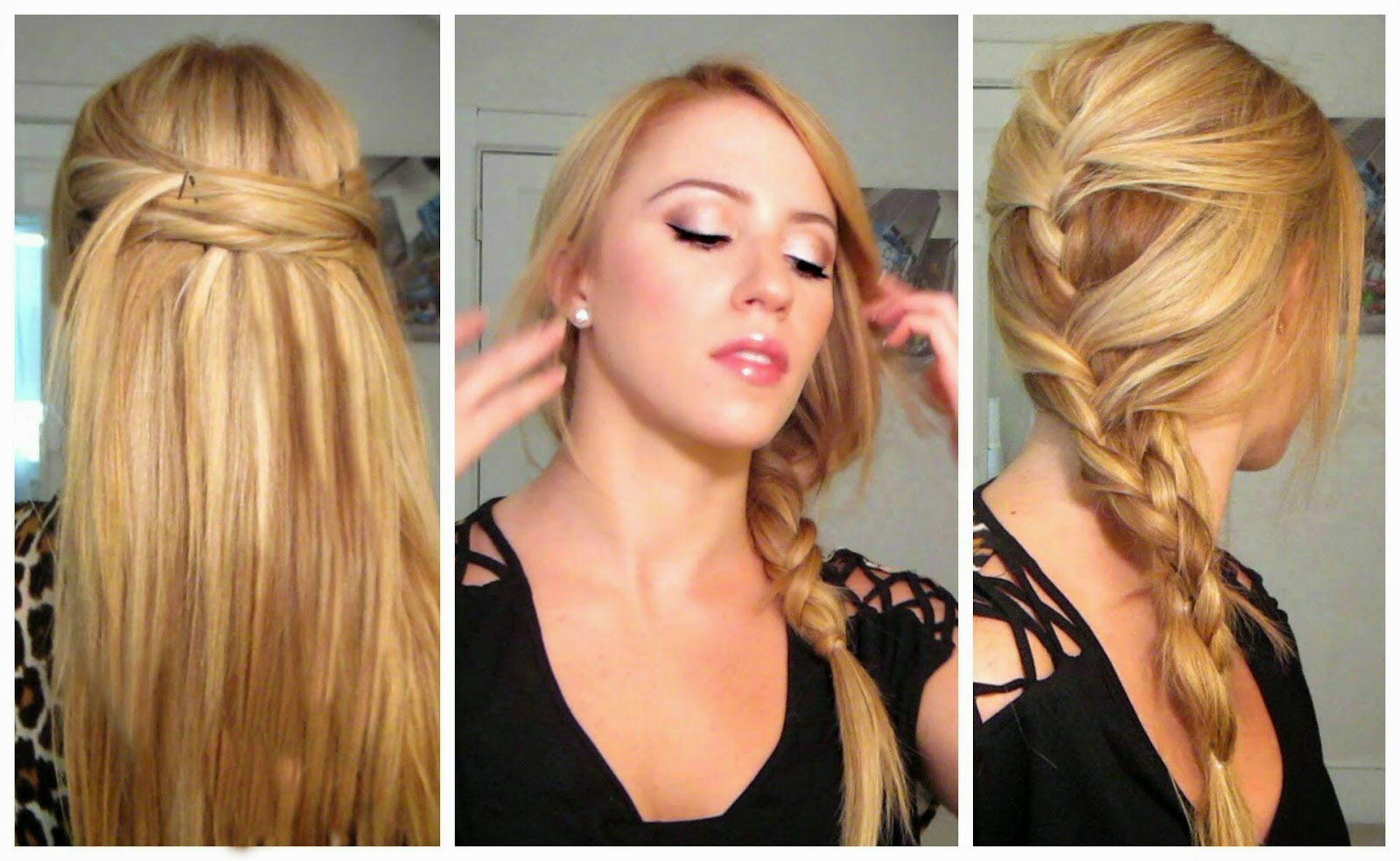 Cute Long Hair Styles: Easy Hairstyles Pictures