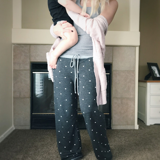 Thrifty Wife, Happy Life- PinkBlush pajama pants