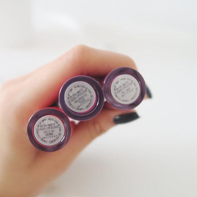 mac liquid lipstick shades