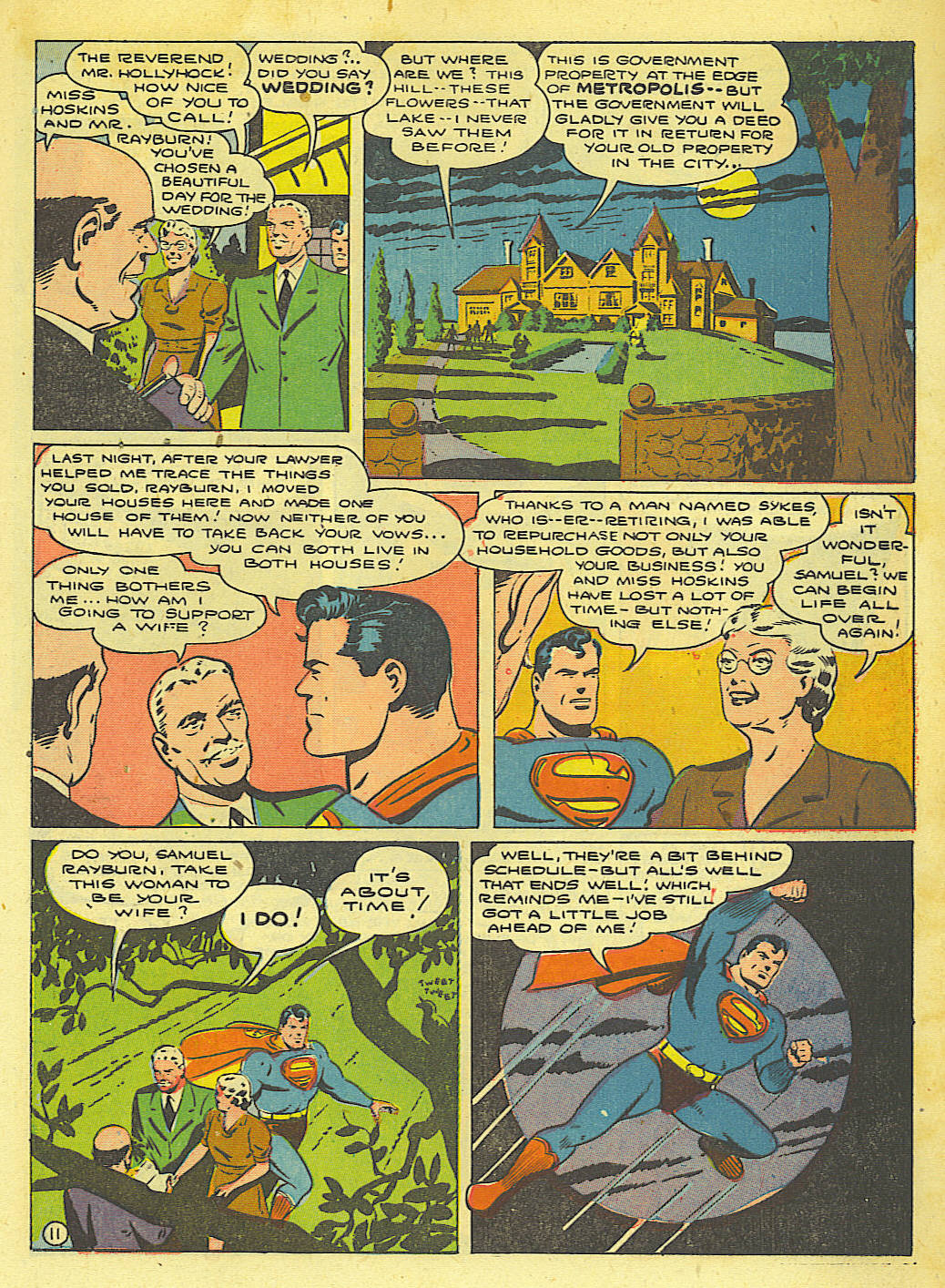Read online Action Comics (1938) comic -  Issue #67 - 13