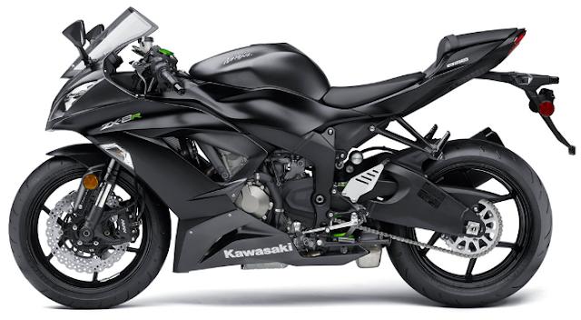 Motor 600 Cc Terbaik di Indonesia Kawasaki Ninja ZX-6R 636