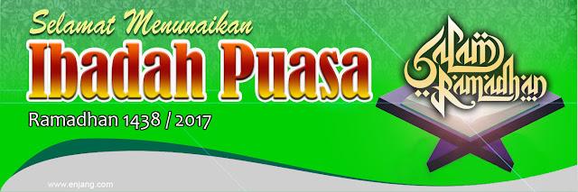 Banner Ramadhan 2017 Hijau