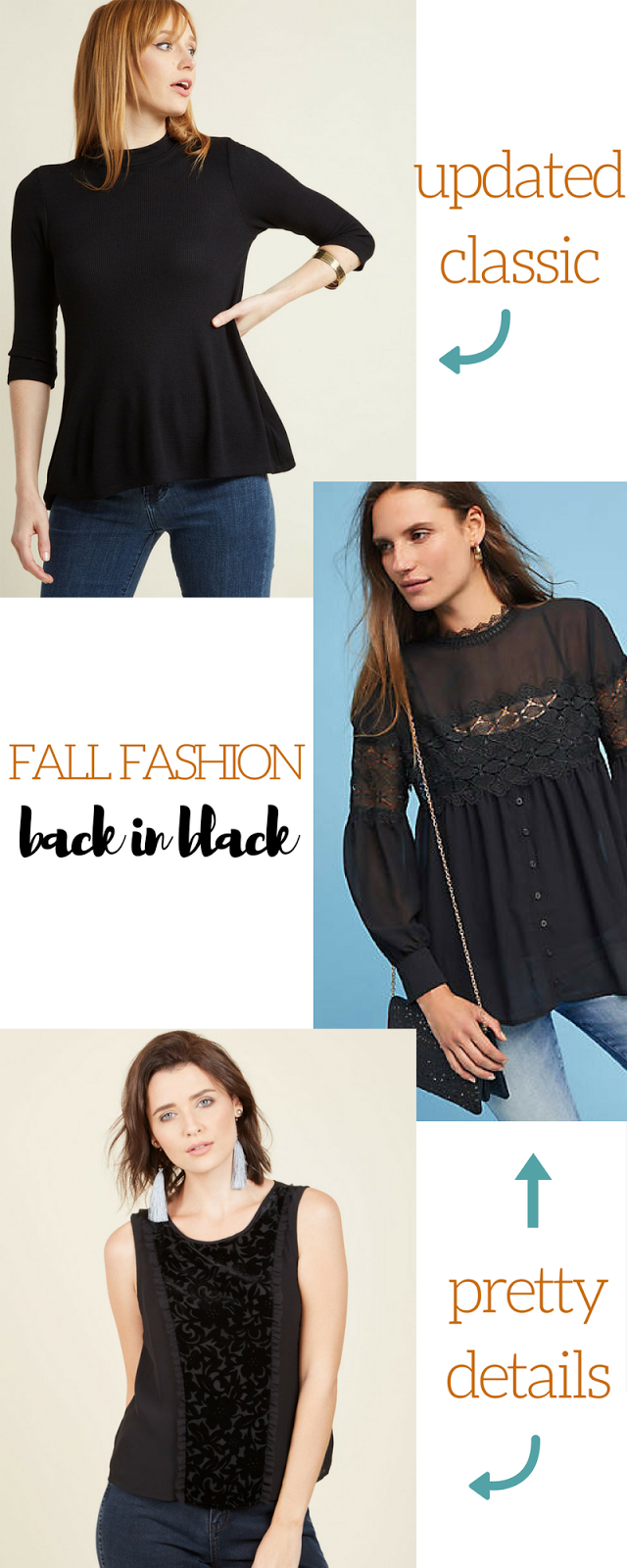 Fall and Winter Fashion: Back In Black