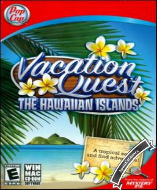 Vacation Quest The Hawaiian Islands Cover, Poster