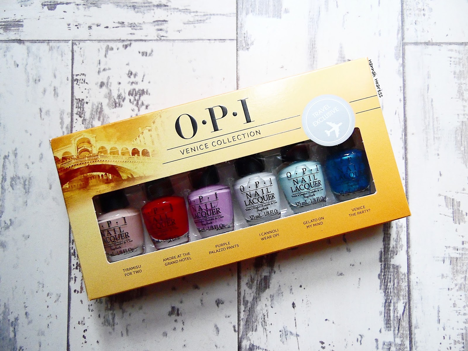 OPI Venice Collection Travel Exclusive