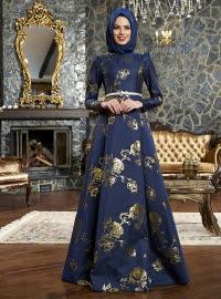 Gaun Malam Muslim Modern Dan Elegan Terbaru