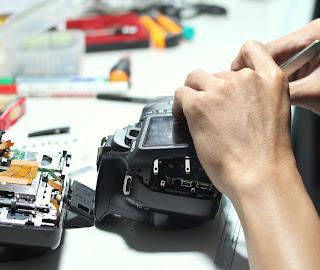 Kerusakan Kamera yang sering terjadi