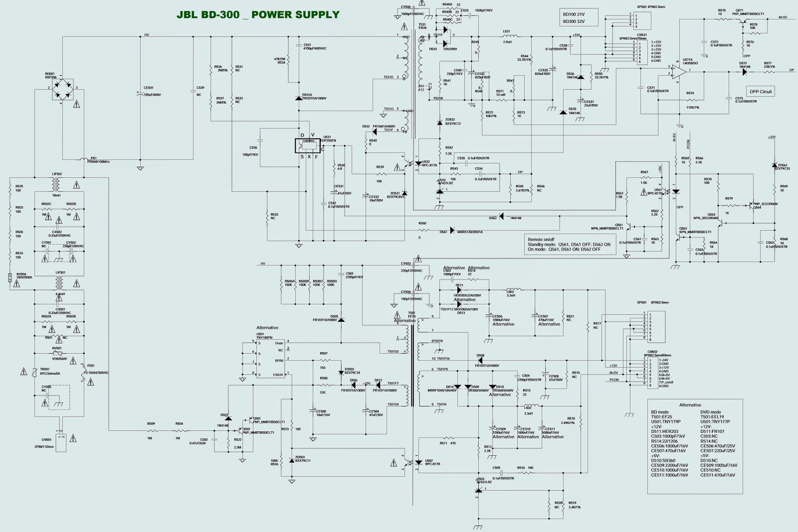 wiring diagram for 7.1 surround sound