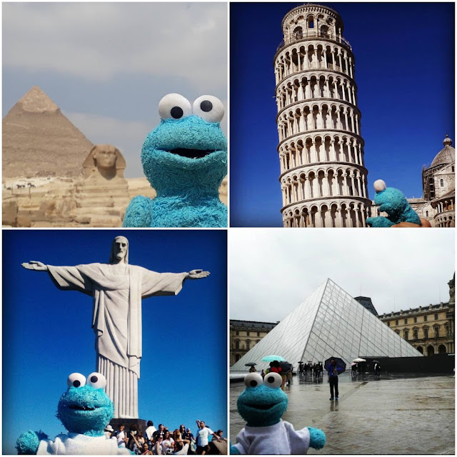 Top travel mascot Instagram account