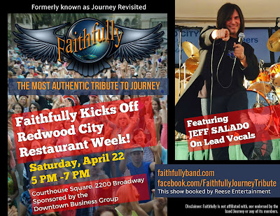 Faithfully to kick off Redwood City Restaurant Week with thousands of fans