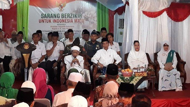 KH Maimoen Zubair Ungkap Pilih Jokowi dalam Pilpres 2019