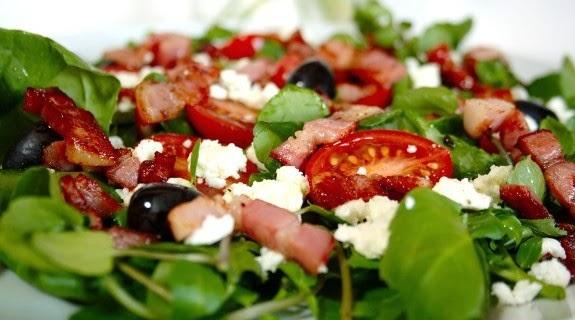 salada cores de maio