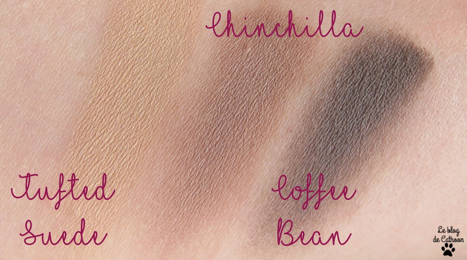 swatch Matte Eye Too Faced