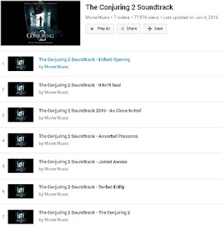 OST (Original Soundtrack) The Conjuring 2 Terbaru 2016
