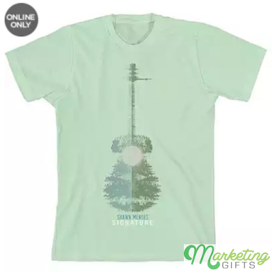 shawn mendes signature branded t-shirt