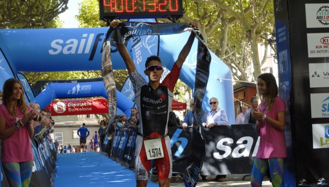 Erik Moreno y Laura Gomez vencen la Sailfish Half Triatló Berga
