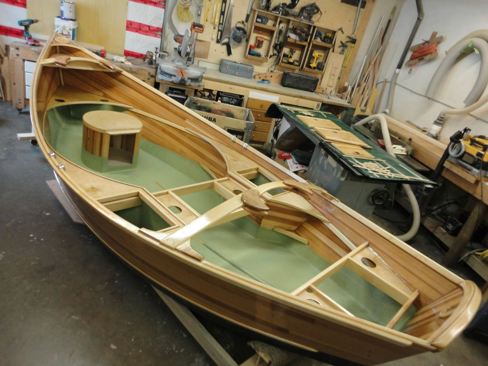 Plywood Canoe Building Plans