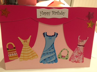 Fashion Birthday Card For A 7 Year Old Girl