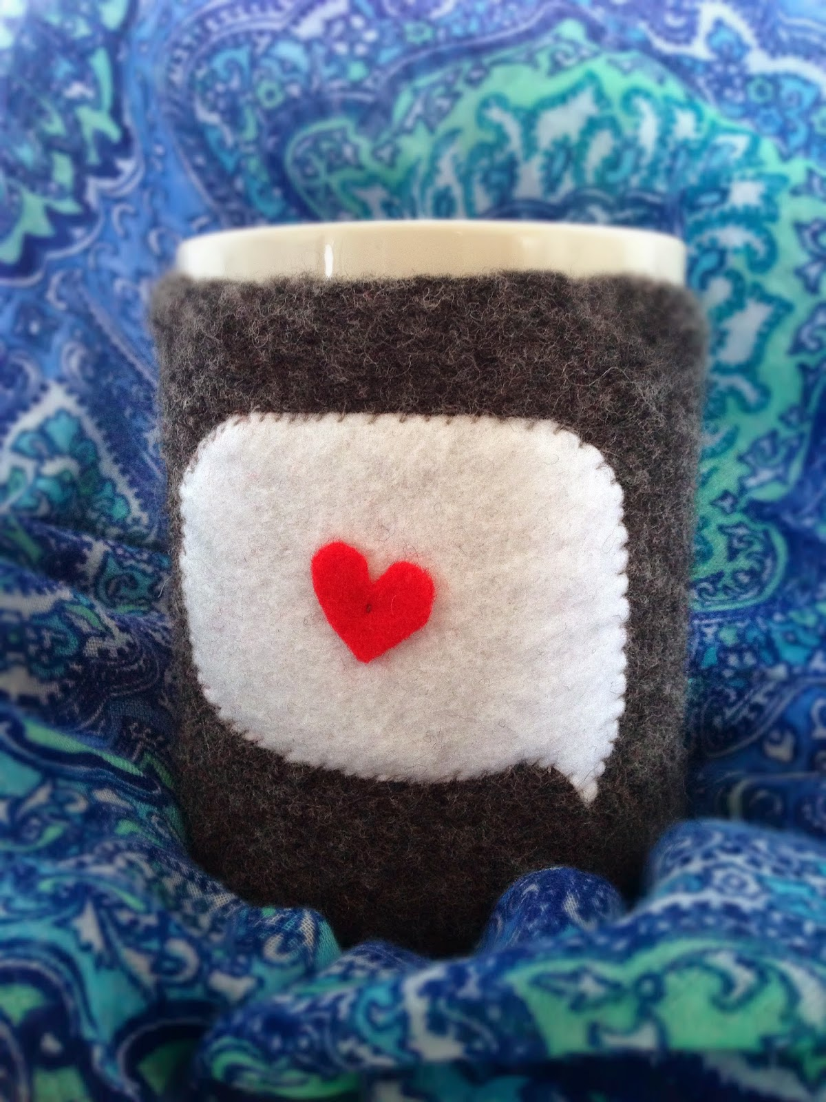 Cute DIY Mug Cozy