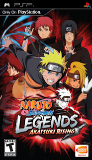 Download  Naruto Shippuden: Legends: Akatsuki Rising Free  PSP Android PPSSPP ISO