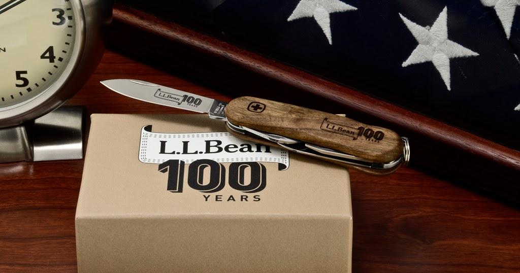 Alex Grant L L Bean 100th Anniversary Evowood Swiss Army