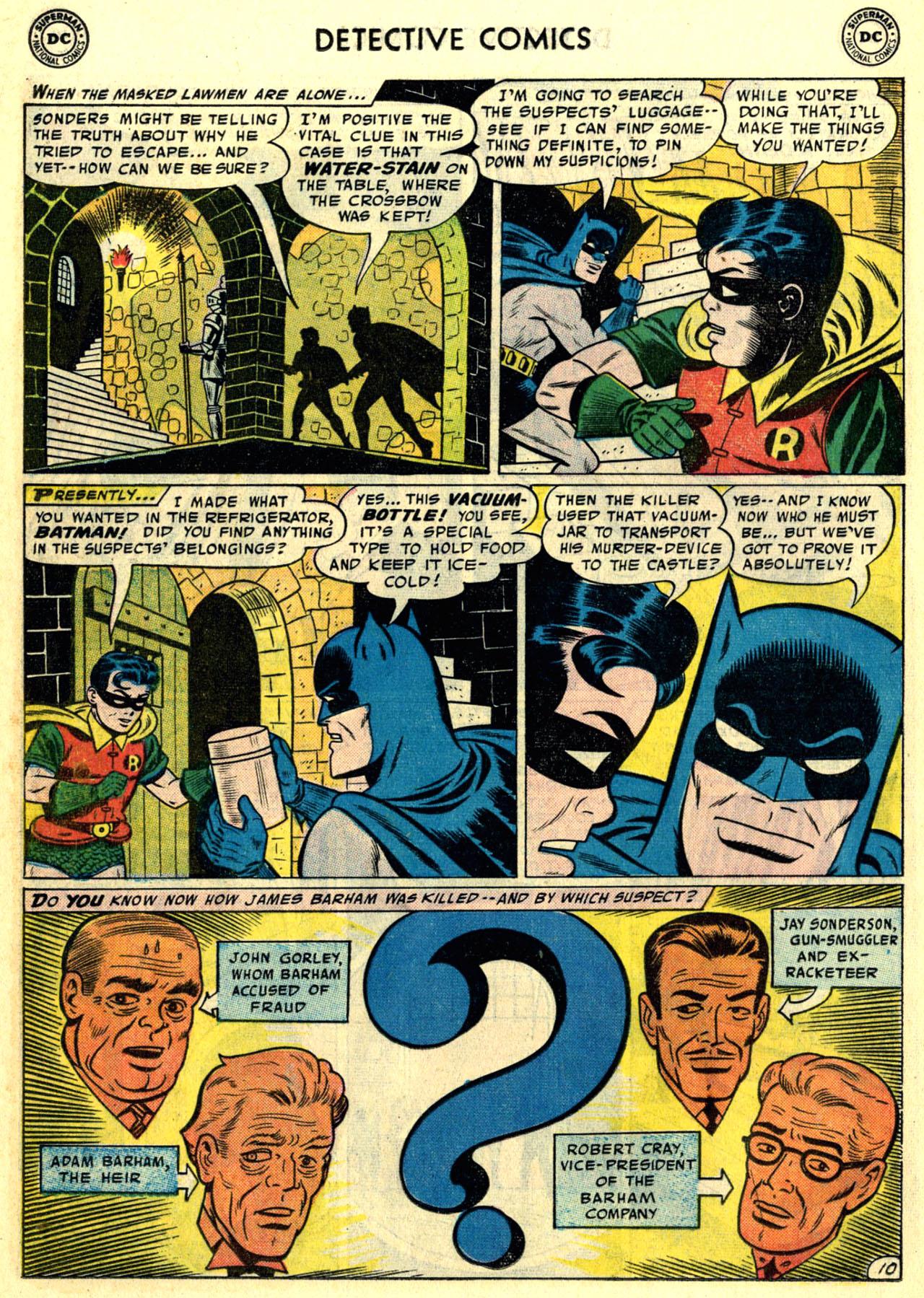 Read online Detective Comics (1937) comic -  Issue #246 - 12