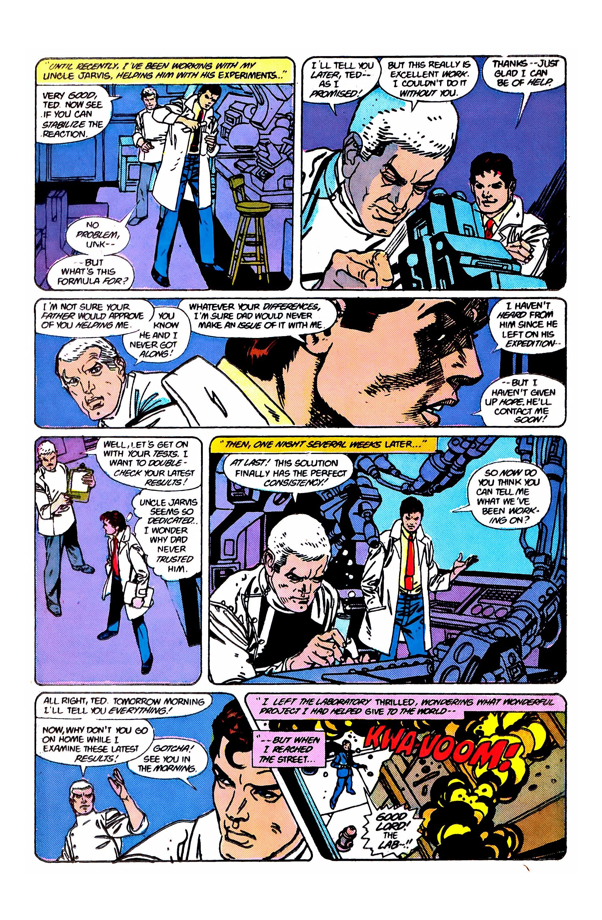Read online Secret Origins (1986) comic -  Issue #2 - 19