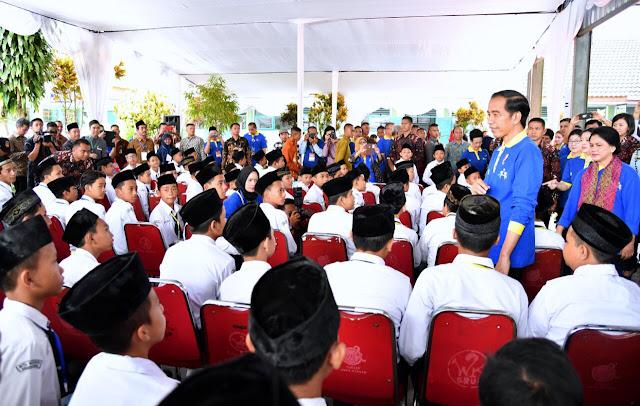 Presiden Jokowi Tekankan Pentingnya Imunisasi Campak dan Rubella