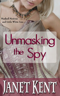 Unmasking the Spy by Janet Kent cover