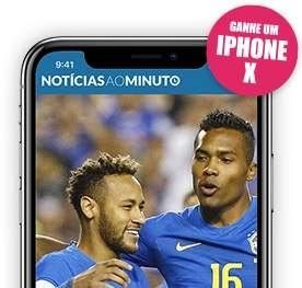 Cadastrar Promoção Notícias ao Minuto iPhone X
