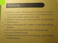 Merkmale: Aiho 50ml USB Auto Aroma Diffuser Mini AD-P3 Aromatherapie Ätherische Öl Ultraschall Luftbefeuchter Humidifier