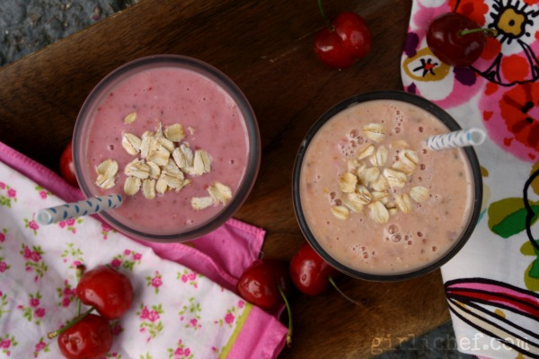 Fruit & Oat Power Smoothie {she made, ella hace}
